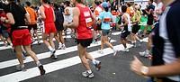 Marathon in Amsterdam, The Netherlands