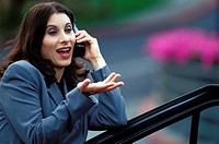 Woman on Cordless Phone