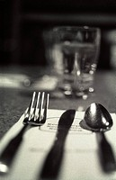 Cafe Table Setting