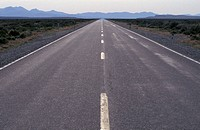Open Highway in Nevada
