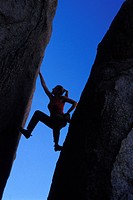 Rock Climber, Buttermilks, California