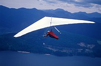 hang gliding, Vancouver Island, British Columbia, Canada