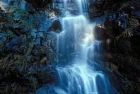 waterfall, Cypress, British Columbia, Canada