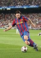 Barcelona, Camp Nou Stadium, 29/09/2009, UEFA Champions League, FC Barcelona vs. FC Dynamo Kyiv, Leo Messi