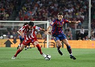 Barcelona, Camp Nou Stadium, 31/08/2009, Spanish League, FC Barcelona vs. Sporting de Gijón, Zlatan Ibrahimovic