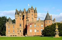 Glamis Castle. Angus. Scotland. Great Britain.