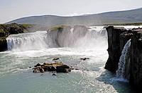 Goðafoss, river Skjálfandafljót, Iceland