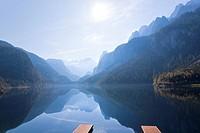 Lake Gosau and Dachstein, Salzkammergut, Austria