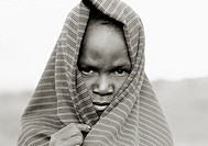 A young Masai child in Tanzania, Africa