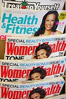 Womens' health magazines