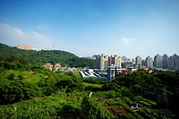 Panoramic of city