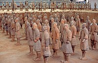 Terracotta Army, Mausoleum of the First Qin Emperor,China