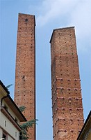 medieval towers, Pavia, Lombardy, Italy