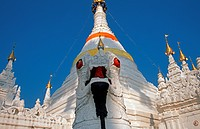 The temple Wat Phra That Doi Kong Mu, Thailand