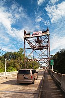 USA, Louisiana, Cajun Country, Breaux Bridge, Crawfish Capital of the World, bridge over Bayou Teche River
