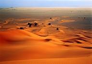afrique,sahara,libye : désert sud-ouest, erg et reg