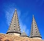 Papal Palace 14 cent , UNESCO World Heritage Site, Avignon, Provence, France