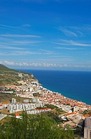 Sesimbra. Setubal district. Serra da Arrábida. Portugal.