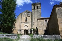Church, monastery of Santa Maria del Parral, Segovia. Castilla-Leon, Spain