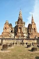 Sukhothai (Thailand): the Wat Mahathat
