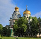 The Resurrection cathedral 1685 in New Jerusalem monastery, Istra, Moscow region, Russia