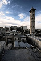 Old city in Aleppo, Syria