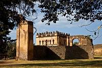 Royal Palace. Gondar. Ethiopia. Africa.