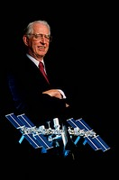 James C. Fletcher, Director of NASA from 1971_1977 and 1986_1989.