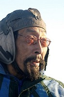 John ARnatsiaq, Inuit hunter Igloolik or Iglulik, Nunavut, northern Canada October 2006