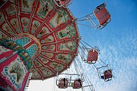 chairoplane at Munich Oktoberfest