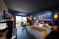Seaview room luxury hotel