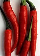 Red peperonies
