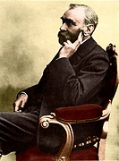 A portrait of Alfred Nobel, taken not long before his death in 1896. Alfred Bernhard Nobel 1833_1896, Swedish chemist and inventor, joined his father ...