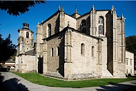 Collegiate church, Villafranca del Bierzo, Leon province, Castilla-Leon, Spain