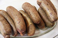 Botifarrons, typical majorcan sausages