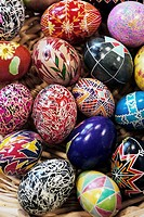 Ukrainian Style hand painted Easter eggs