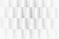 Stack of foam cups