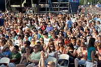 Crowds watch concert at Taste of Chicago concert