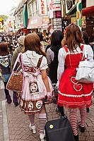 Takeshita-dori street, teen fashion and culture area 