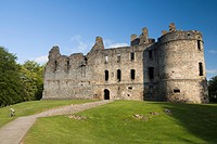 Balvenie Castle, Dufftown, Highlands, Scotland, United Kingdom, Europe