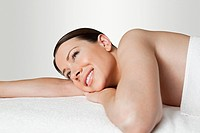 Young woman on massage table (thumbnail)