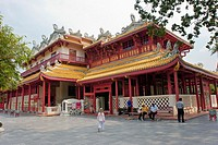 The Chinese styled 'Heavenly Light' pavilion  Bang Pa-In Royal Summer Palace, Ayutthaya, Thailand