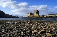 Eilean Donan Castle in Highlands, Scotland