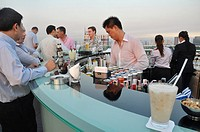 Bangkok (Thailand): the Sky Bar, on the rooftop of the State Tower
