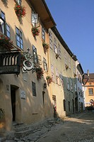 Rumania, Sighisoara, Dracul's house
