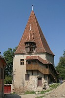 Rumania, Sighisoara, wall tower