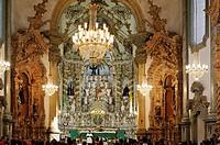 Cathedral basilica of Nossa Senhora do Pilar, São João del Rei, Minas Gerais, Brazil
