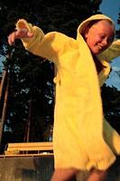 Boy seven years old, Sweden