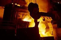 Steel plant , India