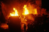 Fire in factory , India